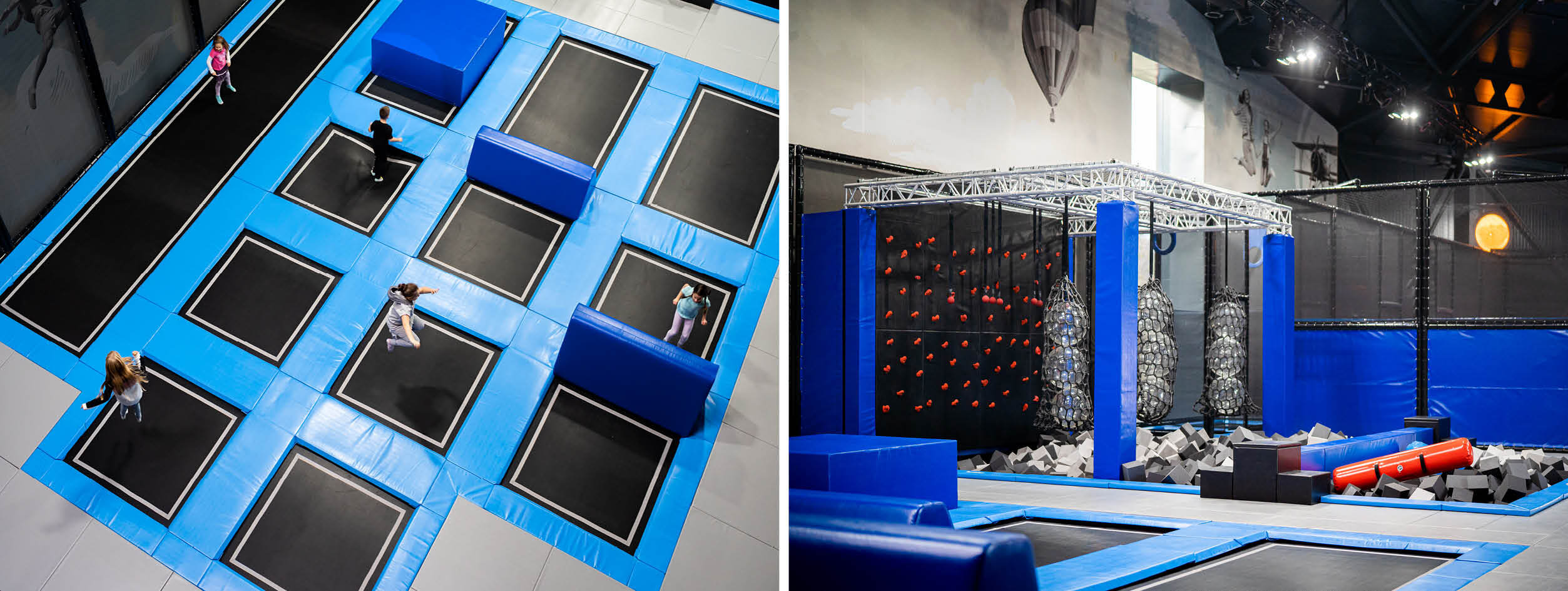 Trampoline park Jumping Dome